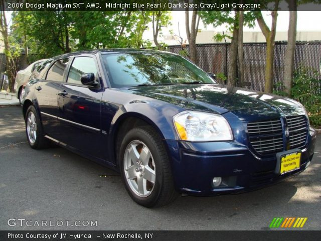 2006 Dodge Magnum SXT AWD in Midnight Blue Pearl. Click to see large ...