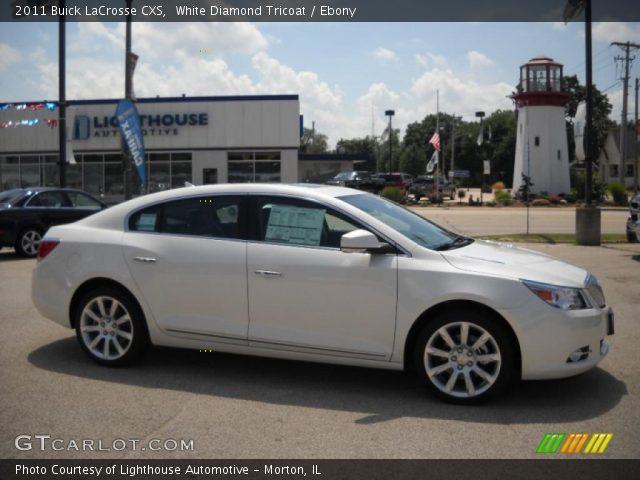 2011 Buick LaCrosse CXS in White Diamond Tricoat