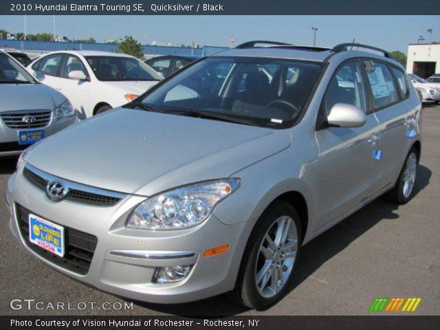 Quicksilver - 2010 Hyundai Elantra Touring SE - Black ...