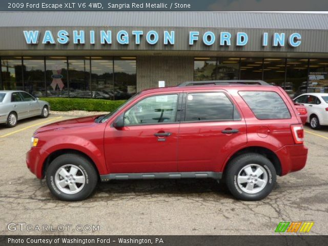 Sangria Red Metallic -...2009 Ford Escape Xlt Battery Light Stays On