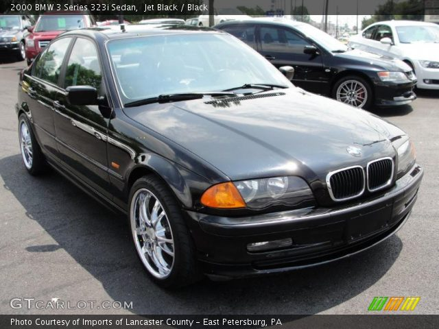 2000 BMW 3 Series 323i Sedan in Jet Black