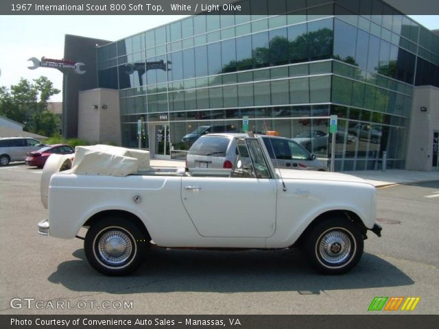 1967 International Scout 800 Soft Top in White