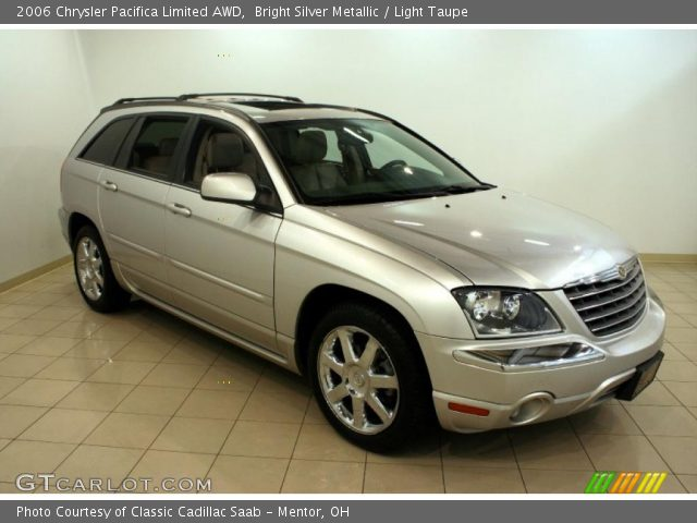 bright silver metallic 2006 chrysler pacifica limited. Black Bedroom Furniture Sets. Home Design Ideas