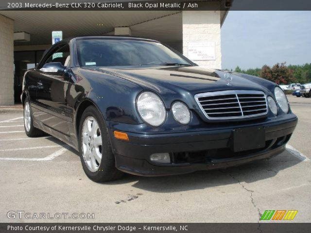 Black opal metallic 2003 mercedes benz clk 320 cabriolet for 2003 mercedes benz clk 320