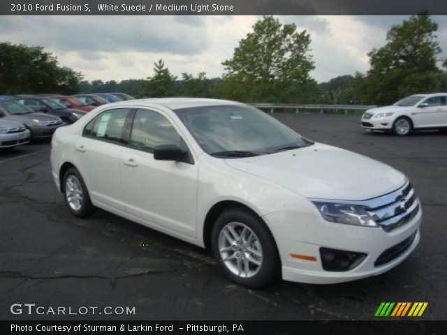 ford fusion s. White Suede 2010 Ford Fusion S