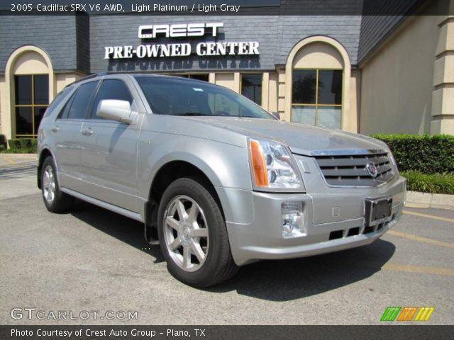 2005 Cadillac SRX V6 AWD in Light Platinum