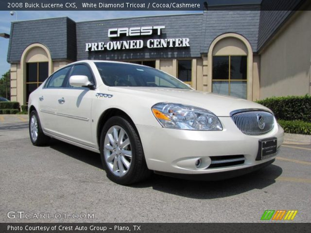 2008 Buick Lucerne CXS in White Diamond Tricoat. Click to see large ...