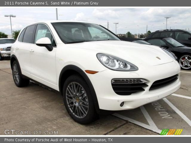 2011 porsche cayenne s white for sale. Black Bedroom Furniture Sets. Home Design Ideas