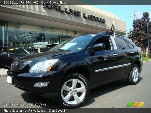 black onyx 2008 lexus rx 350 awd black interior vehicle archive 34320001. Black Bedroom Furniture Sets. Home Design Ideas