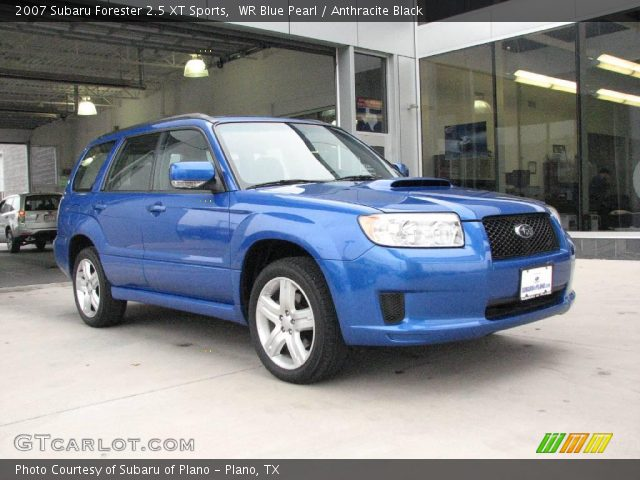 wr blue pearl 2007 subaru forester 25 xt sports