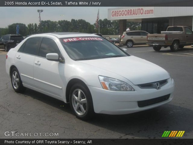 taffeta white 2005 honda accord ex l sedan ivory. Black Bedroom Furniture Sets. Home Design Ideas