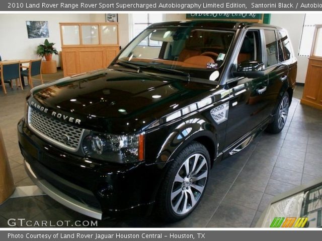 santorini black 2010 land rover range rover sport supercharged autobiography limited edition. Black Bedroom Furniture Sets. Home Design Ideas