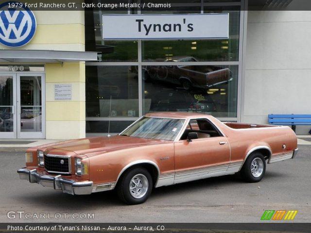 1979 ford ranchero gt in dark orange metallic