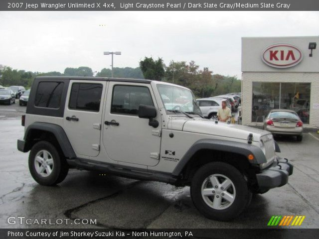 Light graystone pearl 2007 jeep wrangler unlimited x 4x4 - Jeep wrangler unlimited interior lights ...