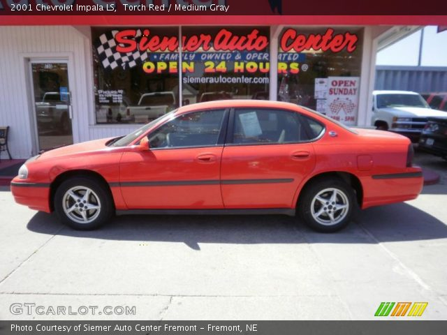 torch red 2001 chevrolet impala ls medium gray. Black Bedroom Furniture Sets. Home Design Ideas