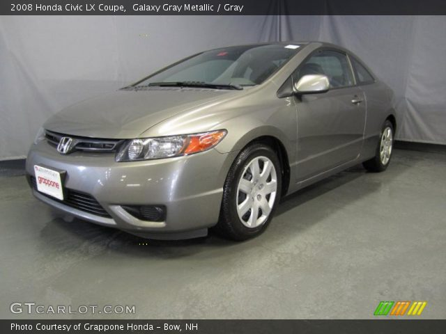 2008 honda civic lx coupe in galaxy gray metallic click to see large. Black Bedroom Furniture Sets. Home Design Ideas