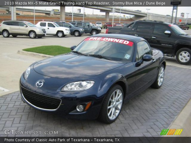 stormy blue mica 2010 mazda mx 5 miata grand touring. Black Bedroom Furniture Sets. Home Design Ideas