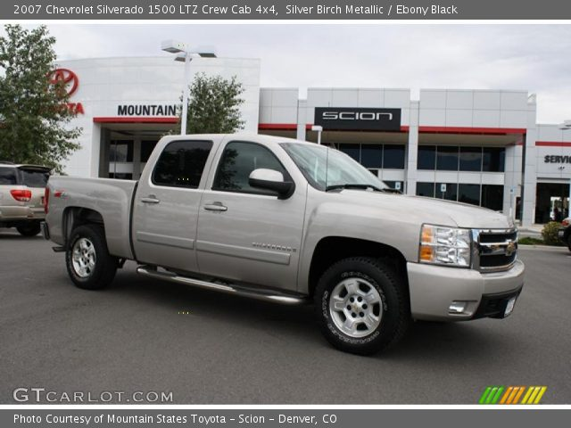 silver birch metallic 2007 chevrolet silverado 1500 ltz. Black Bedroom Furniture Sets. Home Design Ideas