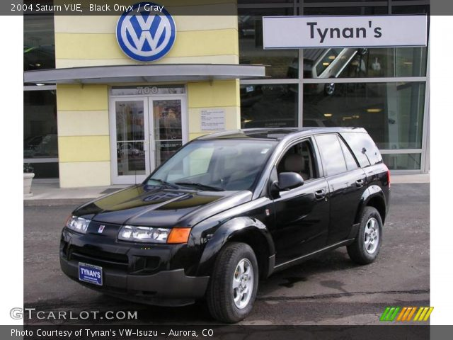 Black Onyx 2004 Saturn VUE with Gray interior 2004 Saturn VUE in Black Onyx