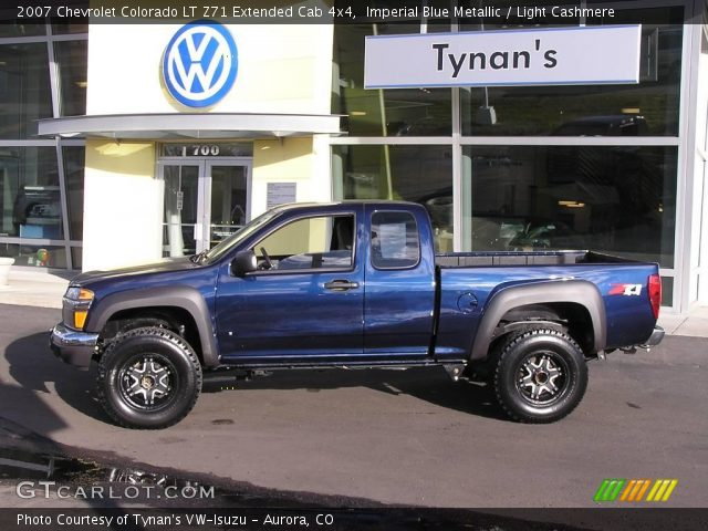 imperial blue metallic 2007 chevrolet colorado lt z71. Black Bedroom Furniture Sets. Home Design Ideas