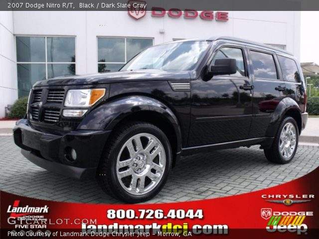 black 2007 dodge nitro r t dark slate gray interior. Black Bedroom Furniture Sets. Home Design Ideas