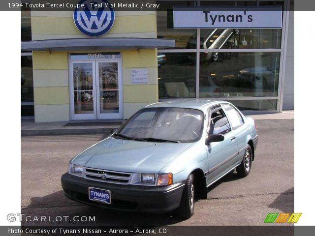 1994 Toyota Tercel Coupe in Teal Mist Metallic