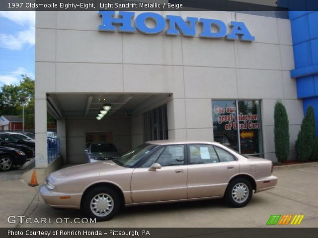 1997 Oldsmobile Eighty-Eight  in Light Sandrift Metallic