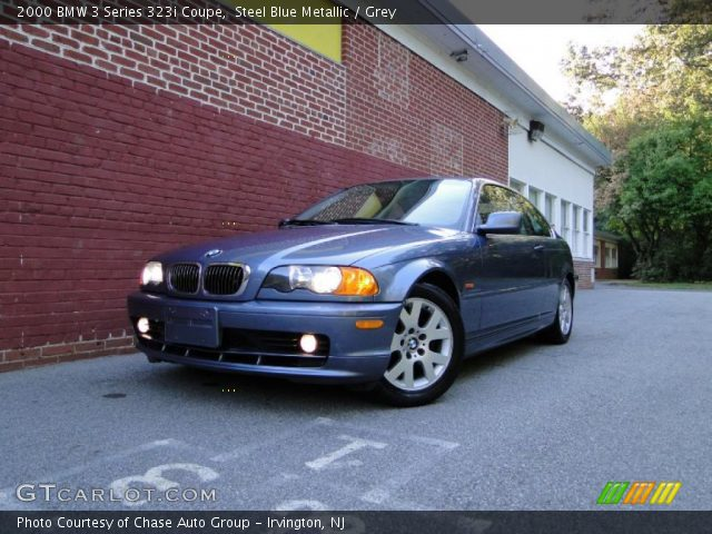 2000 BMW 3 Series 323i Coupe in Steel Blue Metallic