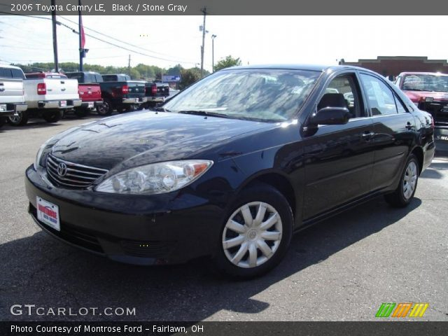 black 2006 toyota camry le stone gray interior vehicle archive 34994310. Black Bedroom Furniture Sets. Home Design Ideas