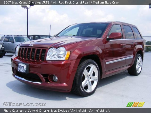 2007 jeep grand cherokee srt8 4x4 in red rock crystal pearl click to. Cars Review. Best American Auto & Cars Review