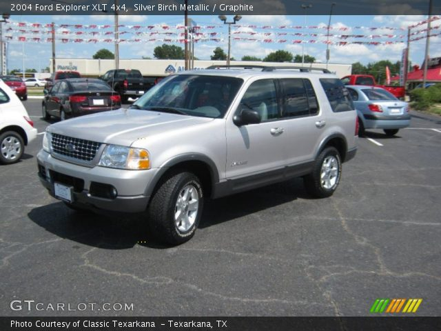 Silver birch metallic 2004 ford explorer limited 4x4 for Musser motors in terrell texas