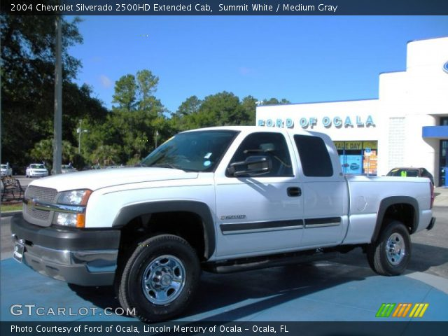 summit white 2004 chevrolet silverado 2500hd extended. Black Bedroom Furniture Sets. Home Design Ideas
