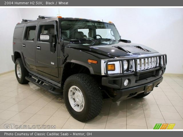 Black 2004 Hummer H2 Suv Wheat Interior Gtcarlot Vehicle