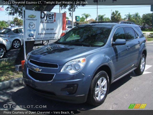 2011 Chevrolet Equinox LT in Twilight Blue Metallic