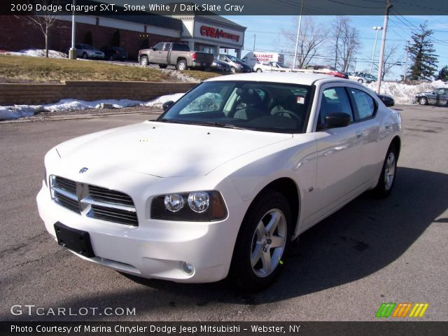 stone white 2009 dodge charger sxt dark slate gray. Black Bedroom Furniture Sets. Home Design Ideas