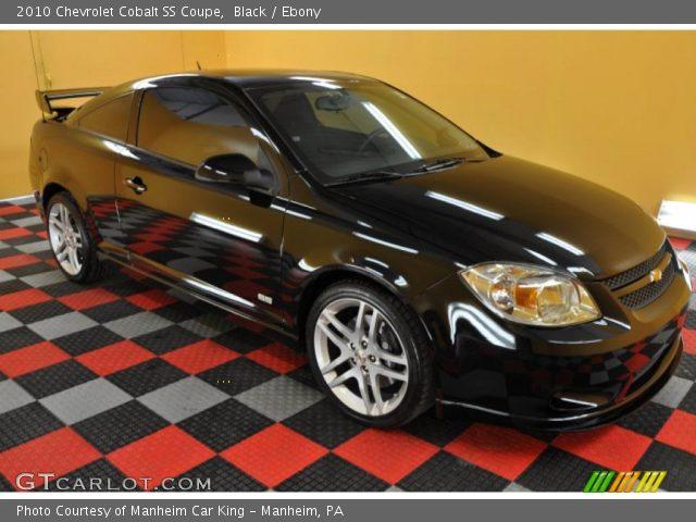black 2010 chevrolet cobalt ss coupe ebony interior vehicle archive 35283560. Black Bedroom Furniture Sets. Home Design Ideas