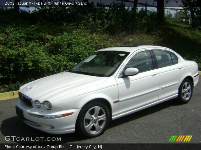 white onyx 2002 jaguar x type 3 0 sand interior vehicle archive 35354249. Black Bedroom Furniture Sets. Home Design Ideas