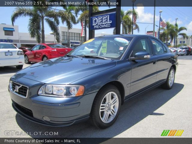 Volvo S60R For Sale >> Barents Blue Metallic - 2007 Volvo S60 2.5T - Taupe/Light ...