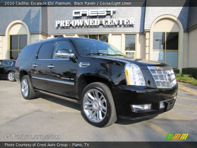 black raven 2010 cadillac escalade esv platinum cocoa. Black Bedroom Furniture Sets. Home Design Ideas