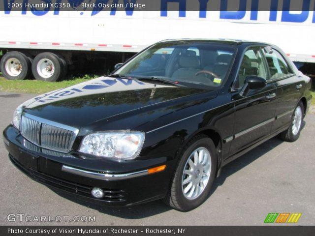 Black Obsidian - 2005 Hyundai XG350 L - Beige Interior | GTCarLot.com ...