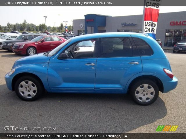 surf blue pearl 2009 chrysler pt cruiser lx pastel. Black Bedroom Furniture Sets. Home Design Ideas