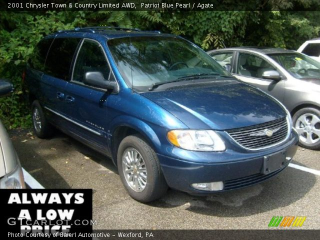 Patriot blue pearl 2001 chrysler town country limited - 2001 chrysler town and country interior ...