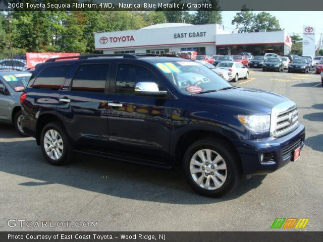nautical blue metallic 2008 toyota sequoia platinum 4wd. Black Bedroom Furniture Sets. Home Design Ideas