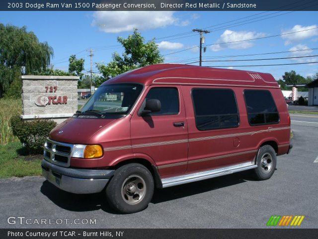 Director Red Metallic - 2003 Dodge Ram Van 1500 Passenger Conversion