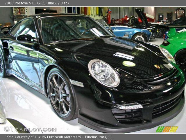 Porsche 911 Gt2 Black. Black 2008 Porsche 911 GT2