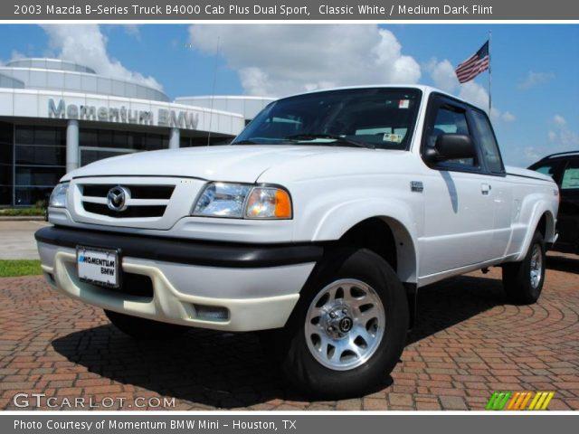 classic white 2003 mazda b series truck b4000 cab plus. Black Bedroom Furniture Sets. Home Design Ideas