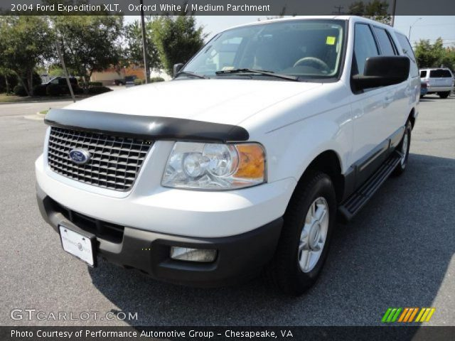 oxford white 2004 ford expedition xlt medium parchment. Black Bedroom Furniture Sets. Home Design Ideas