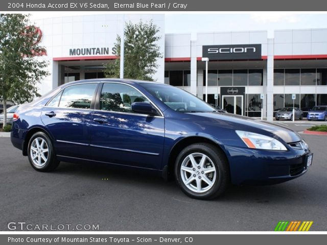 2004 Honda Accord EX V6 Sedan in Eternal Blue Pearl