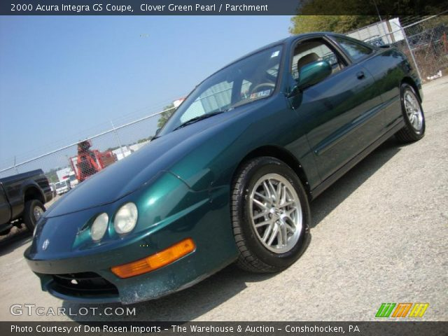 clover green pearl 2000 acura integra gs coupe. Black Bedroom Furniture Sets. Home Design Ideas