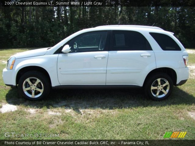 2007 Chevrolet Equinox LT in Summit White. Click to see large photo.
